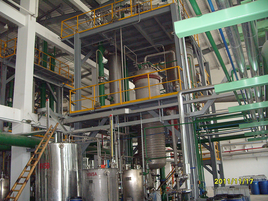 3.8T Sulfonation Plant wiht Static aging